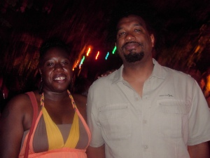 with Colin Channer at Calabash 2007