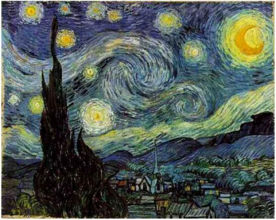 """For my part I know nothing with any certainty, but the sight of the stars make me dream"" - Vincent Van Gogh"