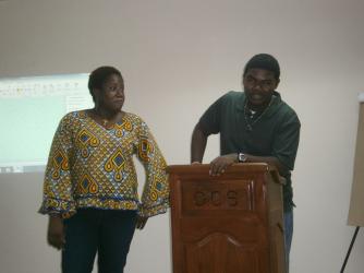 DYA youth media workshop - last day presentations.