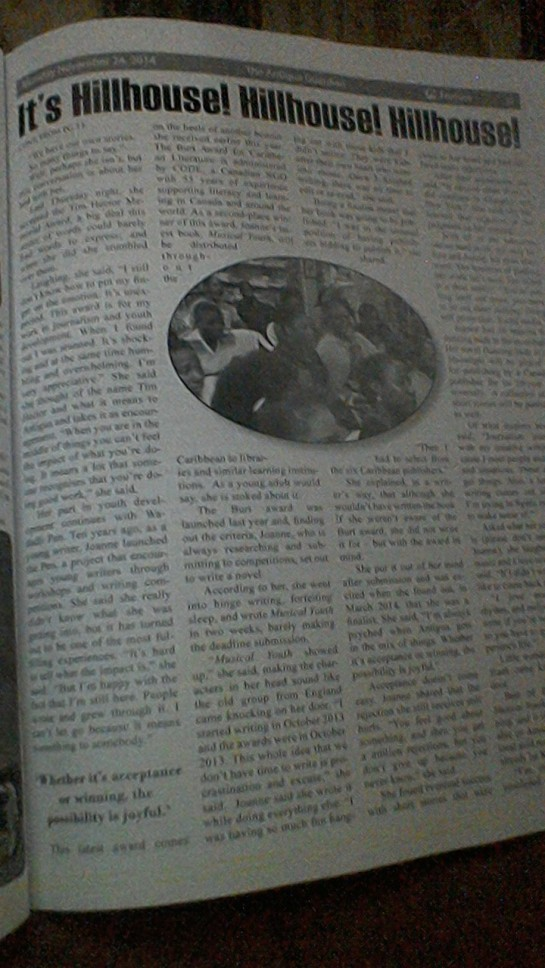 second page of article