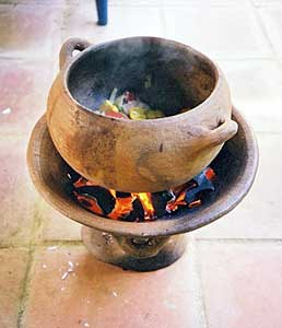 Coal pot, or as it's referred to in my book of the same name, Oh Gad!