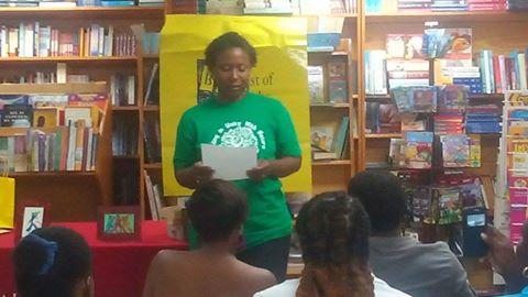 Margaret Irish reading her story, Justice.