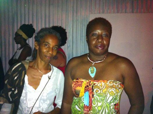 with A-dZiko Gegele in Trinidad, 2014.