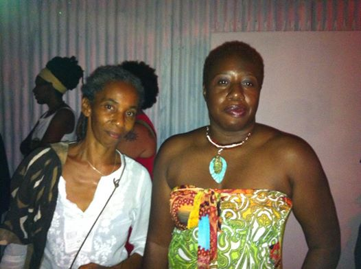 with A-dZiko Gegele in Trinidad, 2014.