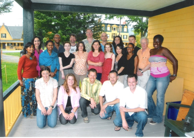 The official photo of Breadloaf fellows 2008...see if you recognize any of your favourite writers.