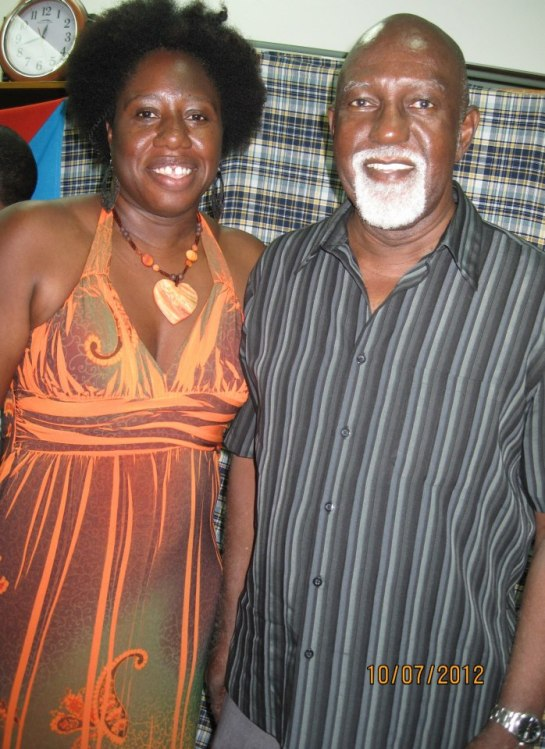 Jamaica's Poet Laureate Mervyn Morris was my mentor during my University of the West Indies days. Ran in to him and had the opportunity to take another of his workshops 2012 at the Nature Island Literary Festival.