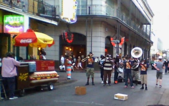 Bourbon Street. Jazz. And a mini-Carnival.