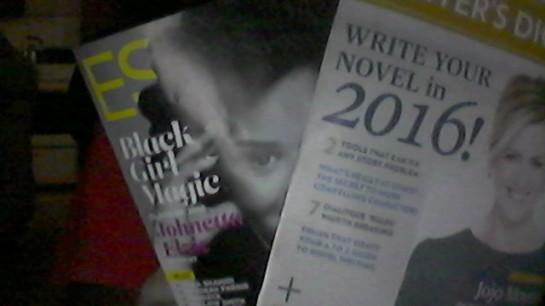 magazines in
