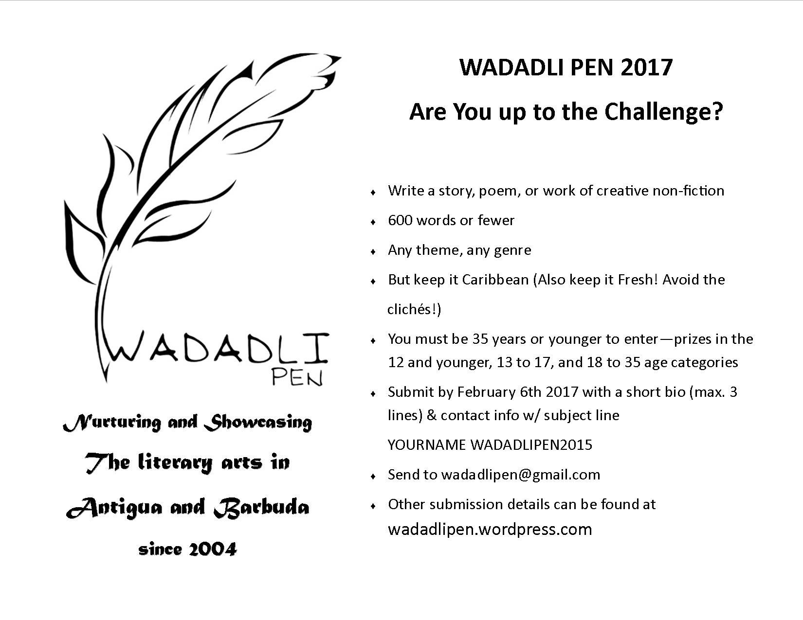 wadadli-pen-2017-flyer