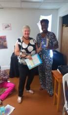 agnes-meeker-wins-door-prize