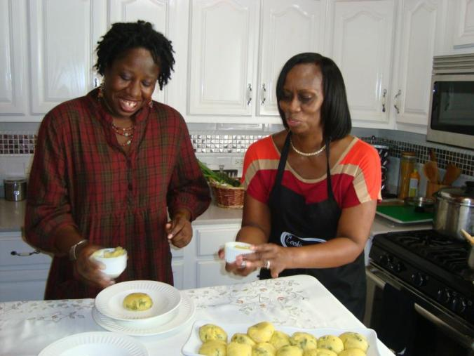 cooking magic 2013 with host Erna Mae