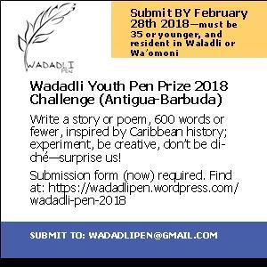 Wadadli Pen Flyer 2018 2