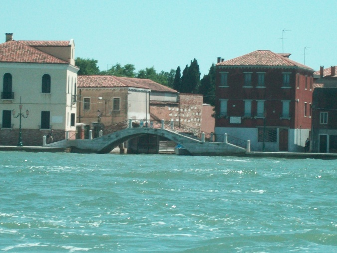 on a water taxi venice travels throwback photo