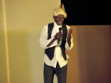James as Equiano. (Photo by Joanne C. Hillhouse/do not reuse without permission)