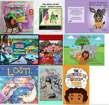 childrens fiction read AntiguaBarbuda 2018