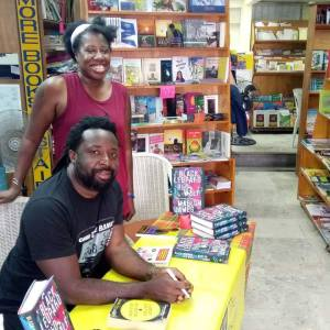 with Marlon James 2019