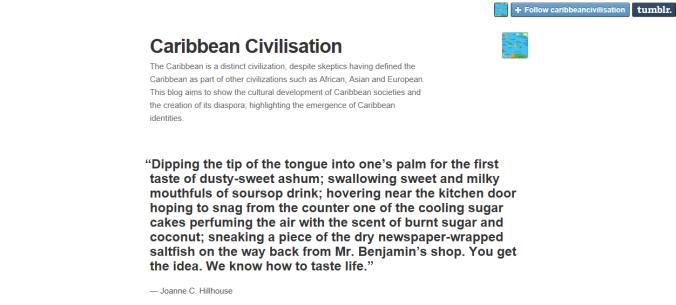 caribbean civilization tumblr