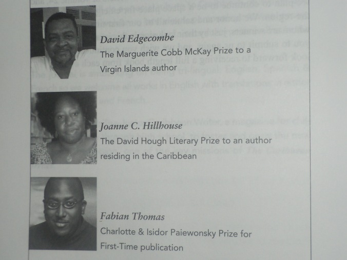 Caribbean Writer Award.JPG