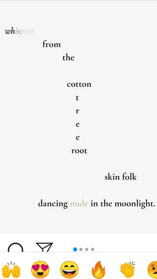 insta poem