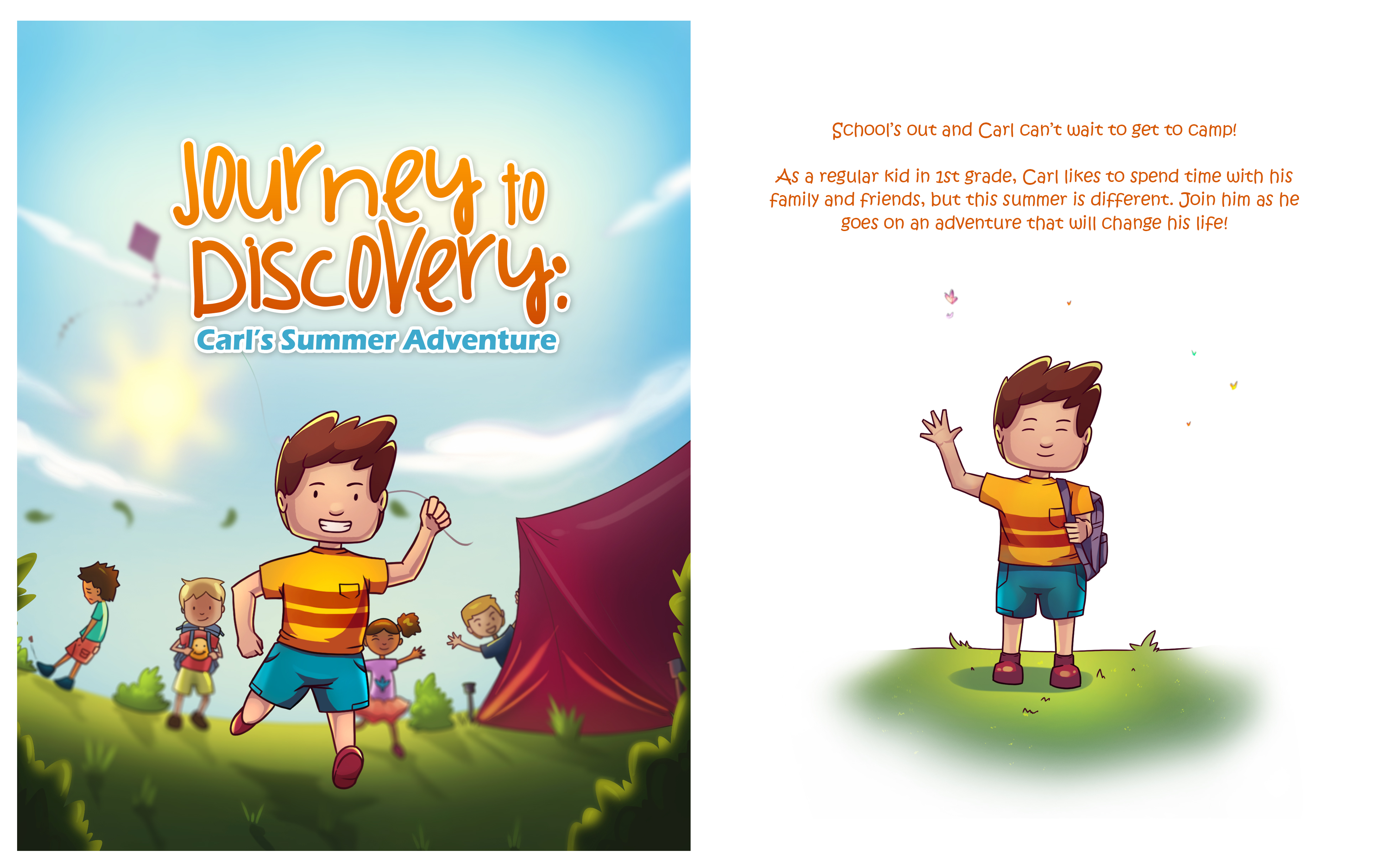 Journey to Discovery Cover Spread