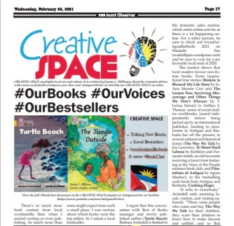 CREATIVE SPACE OUR VOICES OUR BOOKS OUR BESTSELLERS 1