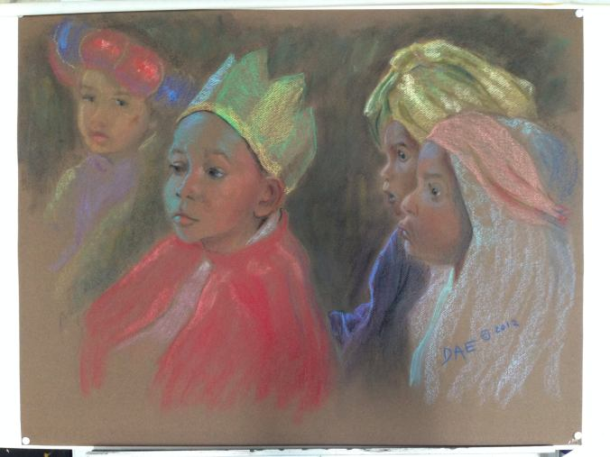 Three Kings and a Shepherd