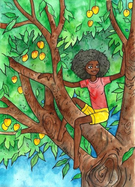 Tanti up a tree Danielle